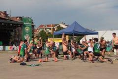 Festival 2017 do rugby de Milão Fotografia de Stock