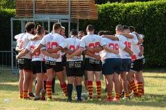 Festival 2017 do rugby de Milão Fotos de Stock Royalty Free