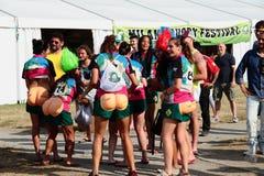 Festival 2017 do rugby de Milão Foto de Stock