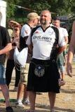 Festival 2017 do rugby de Milão Imagens de Stock Royalty Free