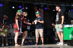 Festival 2017 do rugby de Milão Foto de Stock Royalty Free