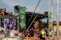 Festival 2017 do rugby de Milão Imagens de Stock