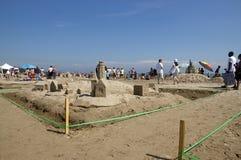 Festival do Sandcastle - Cobourg, Ontário julho 2011 Fotografia de Stock