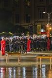 Festival do teatro da rua em Krakow Imagens de Stock Royalty Free