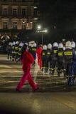 Festival do teatro da rua em Krakow Fotos de Stock