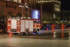 Festival do teatro da rua em Krakow Fotografia de Stock