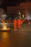 Festival do teatro da rua em Krakow Fotografia de Stock Royalty Free