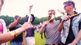 Festival do verão video estoque