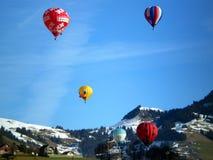 Festival dos balões de ar quente Fotografia de Stock Royalty Free