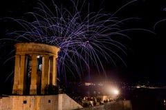Festival dos fogos-de-artifício de Malta Imagens de Stock Royalty Free