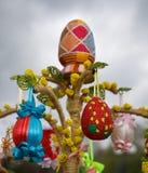 Festival dos ovos da páscoa Fotos de Stock Royalty Free