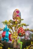 Festival dos ovos da páscoa Imagens de Stock Royalty Free