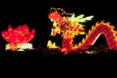 Festival dragon lanterns Stock Photo