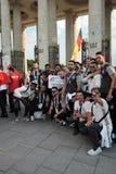 festival du l'Art-football à Moscou Équipe de l'Allemagne Photo libre de droits
