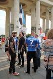 festival du l'Art-football à Moscou Photo stock
