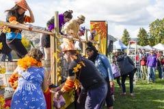 Festival du raisin Oliver Okanagan Valley images stock