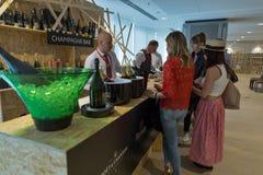 Festival du vin de Kyiv à Kiev, Ukraine Image libre de droits