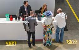 Festival du vin de Kyiv par le bon vin en Ukraine Photo stock
