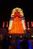 Festival e templo de lanterna chinês do ano 2013 novo justos Imagens de Stock Royalty Free
