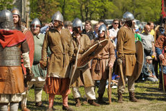 Festival early Middle Ages First Capital of Russia stock image