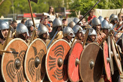 Festival early Middle Ages First Capital of Russia Stock Photo