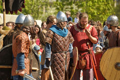 Festival early Middle Ages First Capital of Russia Royalty Free Stock Photography