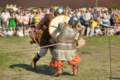 Festival early Middle Ages First Capital of Russia Stock Photography