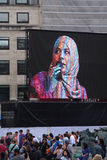 Festival EID bij Trafalgar Vierkant 7 Stock Foto's