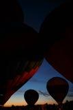 Festival em Pereslavl-Zalessky, voo dos balões de ar quente da noite de Yaroslavl Oblast no 16 de julho de 2016 Foto de Stock