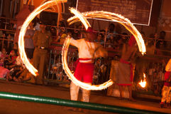 Festival Esala Perahera in Kandy auf Sri Lanka Lizenzfreie Stockbilder
