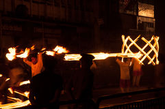 Festival Esala Perahera in Kandy auf Sri Lanka Lizenzfreie Stockfotografie