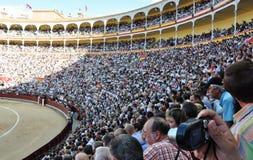 Festival español de la tauromaquia fotos de archivo libres de regalías