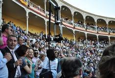 Festival espagnol de tauromachie Photo libre de droits