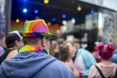 Festival et concert de la fierté LGBT Image stock
