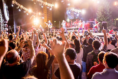 Festival of ethnic music Forey royalty free stock photos