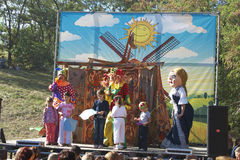 Festival ethnique Image stock