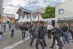 Festival europeo annuale di settimana della bici di Velden in Austria Fotografie Stock Libere da Diritti