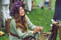 Festival of Experimental Archaeology Royalty Free Stock Photography