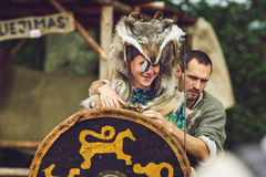 Festival of Experimental Archaeology Royalty Free Stock Photo