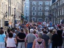 Festival extérieur d'interprète de rue image stock