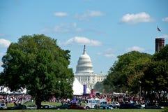 festival för 2012 bok i Washington DC Royaltyfri Fotografi