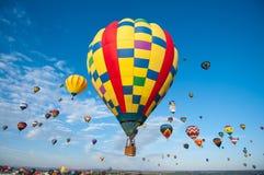 Festival för ballong för varm luft Royaltyfri Foto