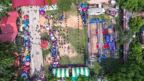 Festival för bullesmällFai raket Arkivbild