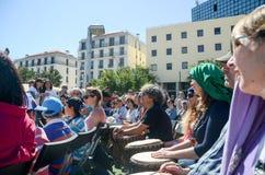 Festival för hundra valsar på arbetardag Arkivbilder
