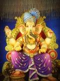 festival för lord Ganesha av INDIEN Royaltyfria Foton