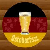 Festival för Octoberfest ferieöl stock illustrationer