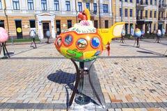Festival för påskägg i Kiev, Ukraina Fotografering för Bildbyråer