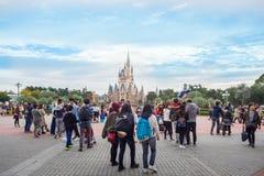 Festival för Tokyo Disney landallhelgonaafton: 24 OKTOBER 2017: LOCATI arkivbilder