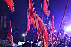 Festival för triumfvagn för gatafotografitapet arkivbilder