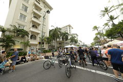 Festival för Waikiki strandgata Royaltyfria Bilder